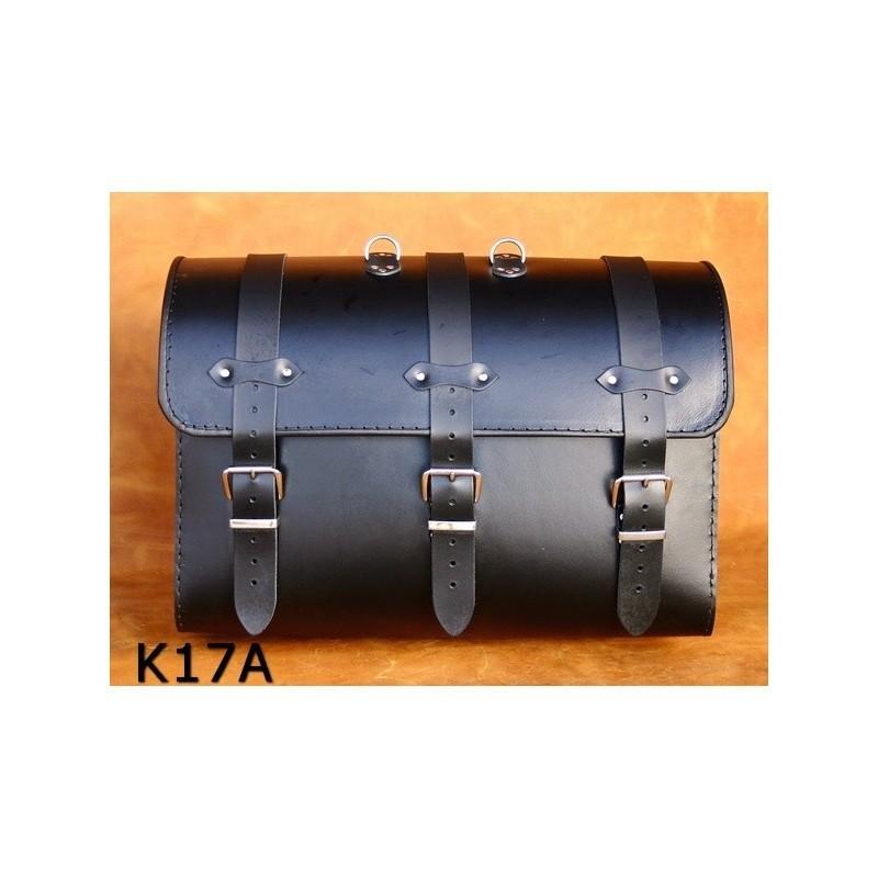 Kufer motocyklowy na bagażnik gładki / SA-K17A