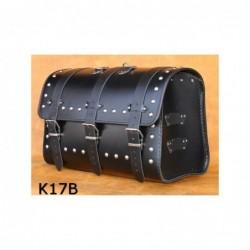 Kufer motocyklowy na bagażnik z ćwiekami / SA-K17B