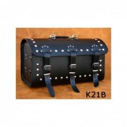 Kufer centralny z 3 klamrami ćwiekowany / SA-K21B