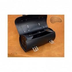 Motocyklowa rolka bagażowa z ćwiekami i frędzlami / SA-K27C - środek