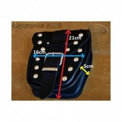 Kieszonki boczne do kufrów - gładkie / SA-Ki2A - wymiar