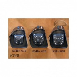 Kieszonki boczne do kufrów - ćwiekowane / SA-Ki2B - na kufrach