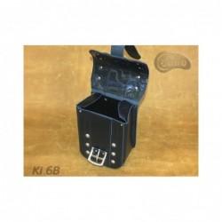Kieszonki boczne do kufrów - z ozdobnymi ćwiekami / SA-Ki6B - wnętrze