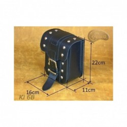 Kieszonki boczne do kufrów - z ozdobnymi ćwiekami / SA-Ki6B - wymiary