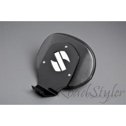 Czarne oparcie kierowcy do motocykla Suzuki Intruder / RS-OPKCPC1500