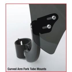 Szyba Mohawk-mocowanie typu B (lagi 31-43 mm) / N2833-001 - uchwyt w wersji czarnej