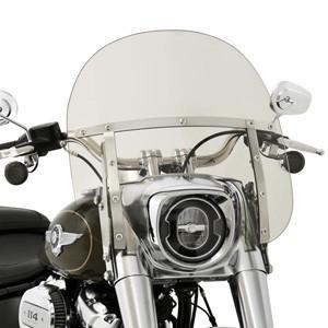 Szyby i owiewki motocyklowe, deflektory i zestawy montażowe