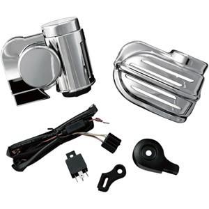 Elementy elektryczne w motocyklu - woltomierze, pokrywy akumulatora, sygnały