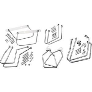 Klasyczne stelaże pod sakwy motocyklowe - różne typy i wzory.