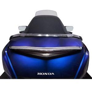Nakładki na kufry i sakwy motocyklowe - podświetlane, chromowane, czarne