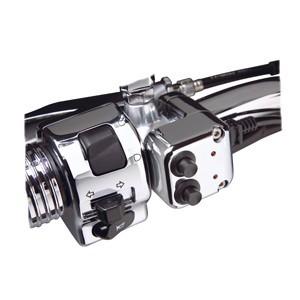 Podwójne lub pojedyncze dodatkowe przełączniki motocyklowe na kierownicę