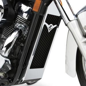 Osłony chłodnicy do motocykli. Duży piękny element ozdobny.