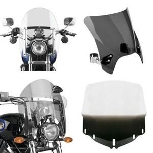 Szyby motocyklowe - montowane i na stałe oraz zdejmowane