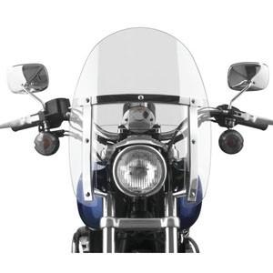 Motocyklowe szyby z mocowaniem na stałe - pewność i wygoda podróżowania!