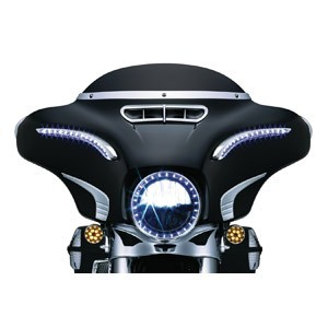 Nakładki, osłony i ozdoby zewnętrznej części owiewki motocyklowej