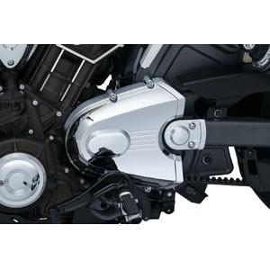 Nakładki, osłony i ozdoby układu napędowego motocykla.