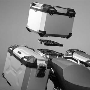 Aluminiowe kufry motocyklowe - niezbędny element podróży motocyklowej