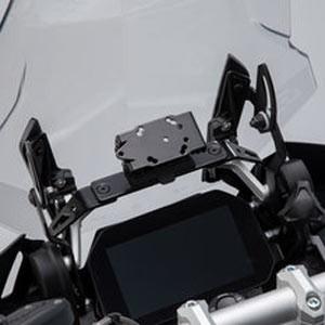 Nawigacja i uchwyty GPS, telefon lub smartfon do motocykla
