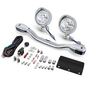 Zestawy lightbarów - świateł drogowych do motocykli - tradycyjne i LED