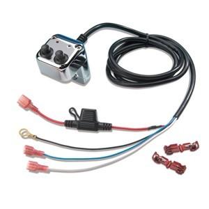 Motocyklowe przełączniki do oświetlenia, lightbarów i halogenów