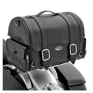 Motocyklowe kufry centralne montowane na bagażniku - duże i pojemne